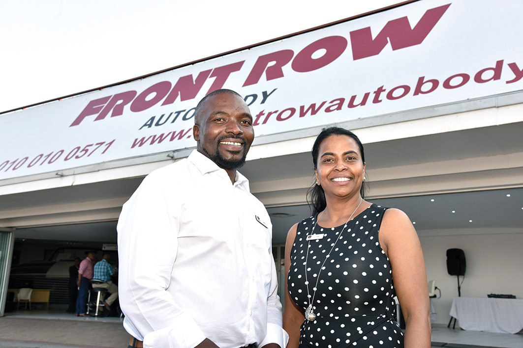 FRONT ROW AUTO BODY OPENS FOR BUSINESS
