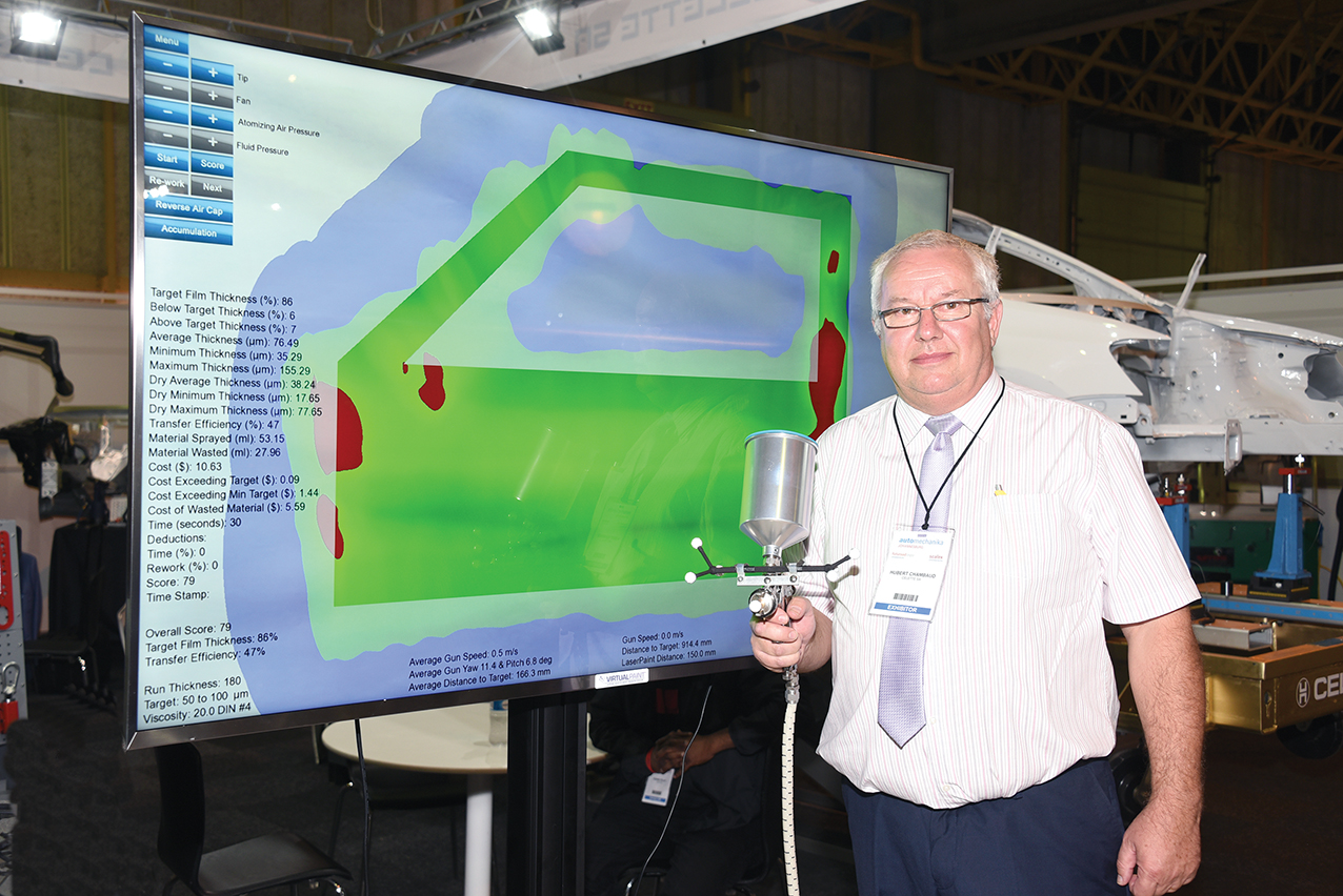 VIRTUAL PAINT SIMULATOR NOW IN LOCAL COLLEGES | Automobile